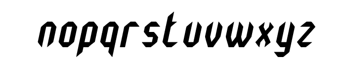 Monster oF South St Italic Font LOWERCASE