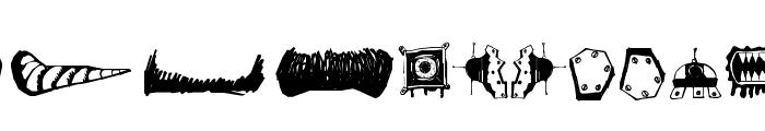 MonsterMasher Font UPPERCASE