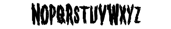 Monsterama Bold Font LOWERCASE