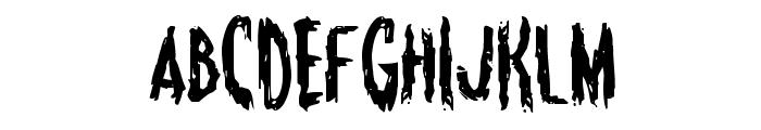 Monsterama Regular Font UPPERCASE