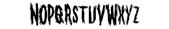 Monsterama Regular Font LOWERCASE