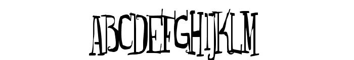 Monsterfreak Font UPPERCASE