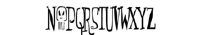 Monsterfreak Font LOWERCASE