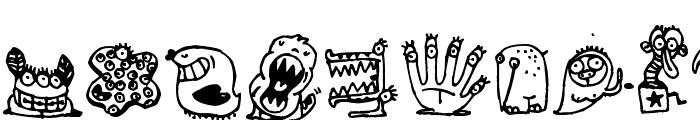 Monsterocity Font UPPERCASE