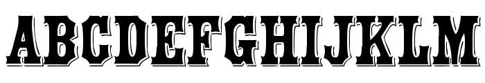 Montague Font UPPERCASE