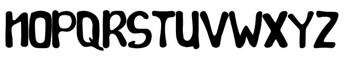Montana Font UPPERCASE