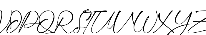 Montelly Font UPPERCASE