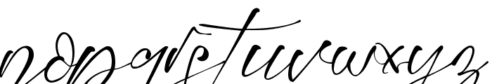 Montelly Font LOWERCASE