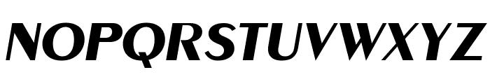 MontereyFLF-BoldItalic Font UPPERCASE