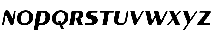 MontereyFLF-BoldItalic Font LOWERCASE