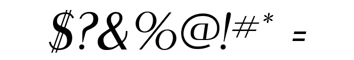 MontereyFLF-Italic Font OTHER CHARS
