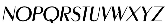 MontereyFLF-Italic Font UPPERCASE