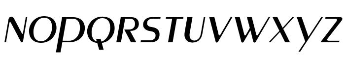 MontereyFLF-Italic Font LOWERCASE