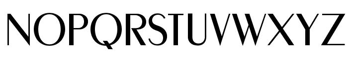 MontereyFLF Font UPPERCASE