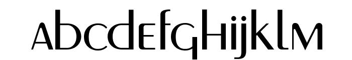 MontereyFLF Font LOWERCASE