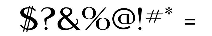 MontereyMediumFLF Font OTHER CHARS