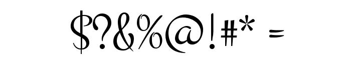 Montez Font OTHER CHARS