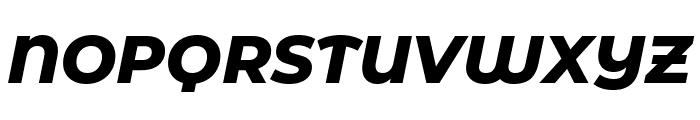 Montserrat Alternates ExtraBold Italic Font UPPERCASE