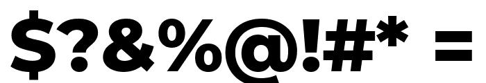 Montserrat Alternates ExtraBold Font OTHER CHARS