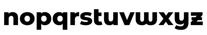 Montserrat Alternates ExtraBold Font LOWERCASE