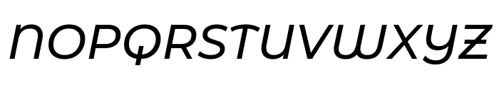 Montserrat Alternates Medium Italic Font UPPERCASE