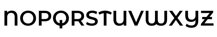 Montserrat Alternates SemiBold Font UPPERCASE
