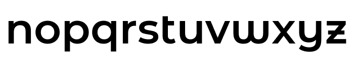 Montserrat Alternates SemiBold Font LOWERCASE