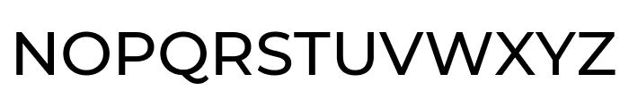 Montserrat Medium Font UPPERCASE