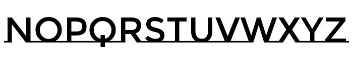 MontserratSubrayada-Regular Font LOWERCASE