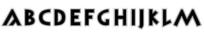 Monument Regular Font LOWERCASE