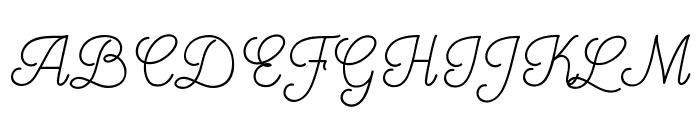Mooglonk Font UPPERCASE