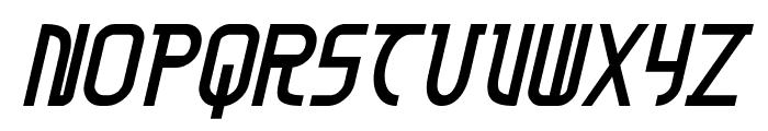 Moon Dart Bold Italic Font LOWERCASE