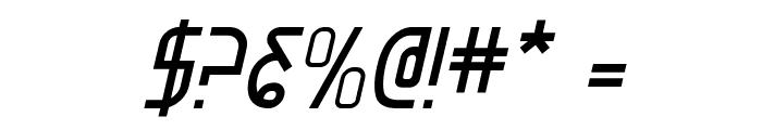 Moon Dart Italic Font OTHER CHARS