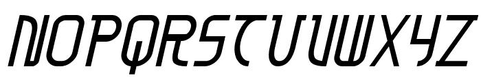 Moon Dart Italic Font LOWERCASE