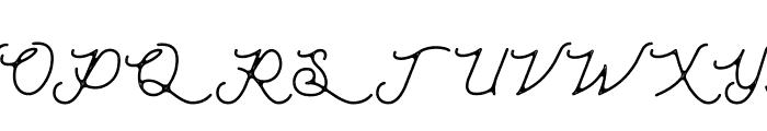 Moonchrome Rough Font UPPERCASE