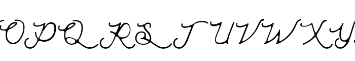 MoonchromeRough Font UPPERCASE
