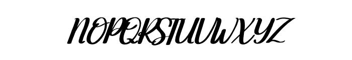 Moonday Italic Font UPPERCASE