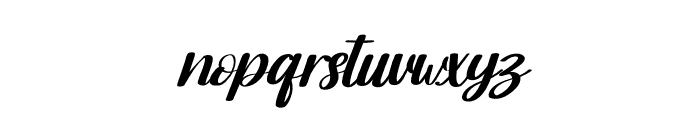 Moonday Italic Font LOWERCASE