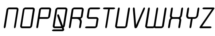 Moondog Thirty Italic Font UPPERCASE