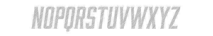Moonshiner-ObliqueLines Font LOWERCASE