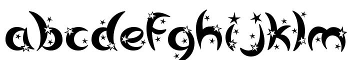 Moonstar Font LOWERCASE