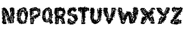 Moonstreet Font UPPERCASE
