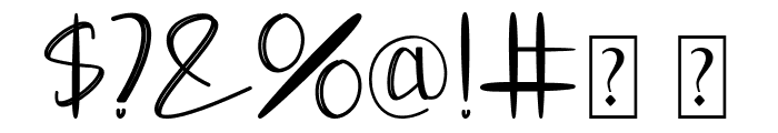 Moontea Family Font OTHER CHARS