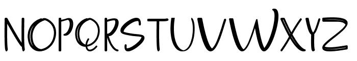 Moontea Family Font UPPERCASE