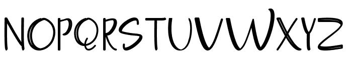 Moontea Script Family Font UPPERCASE