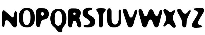 Moony Cat Font UPPERCASE