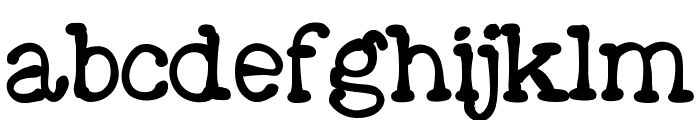 Moose Font LOWERCASE
