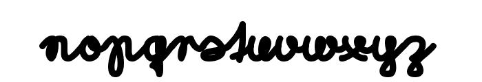 Morado Marker Font LOWERCASE