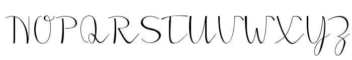 Morado Sharp Font UPPERCASE