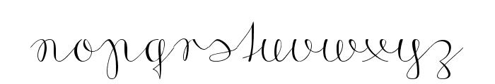 Morado Sharp Font LOWERCASE